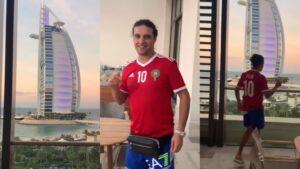 VIDEO: Ali B heeft rondleiding in duurste kamer ooit na upgrade hotel in Dubai