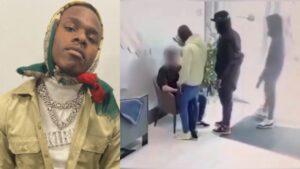 DaBaby pakt hotelmedewerker aan die video maakte van zijn dochter