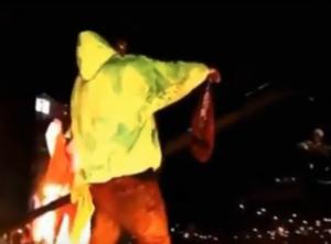 VIDEO: ASAP Rocky krijgt boxershort op podium gegooid en is niet zo blij
