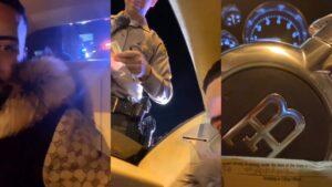 VIDEO: French Montana in Bugatti staande gehouden door politie